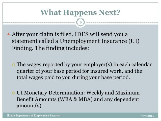 how to fix my unemployment claim
