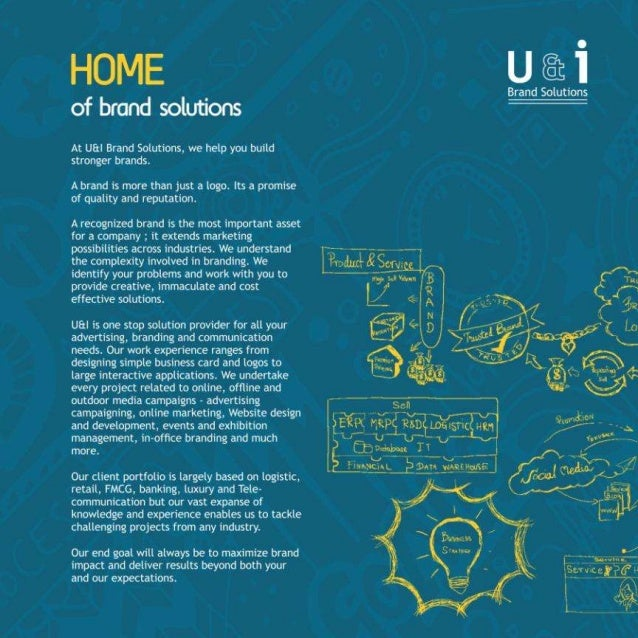 U i brand solutions a communications consultancy for Brand consultant