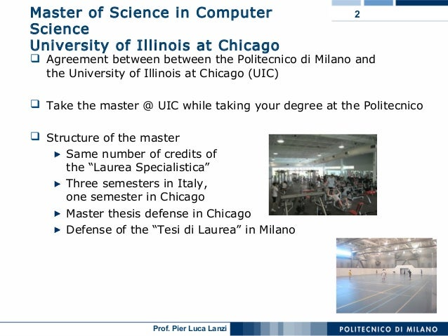 Master thesis computer sciences