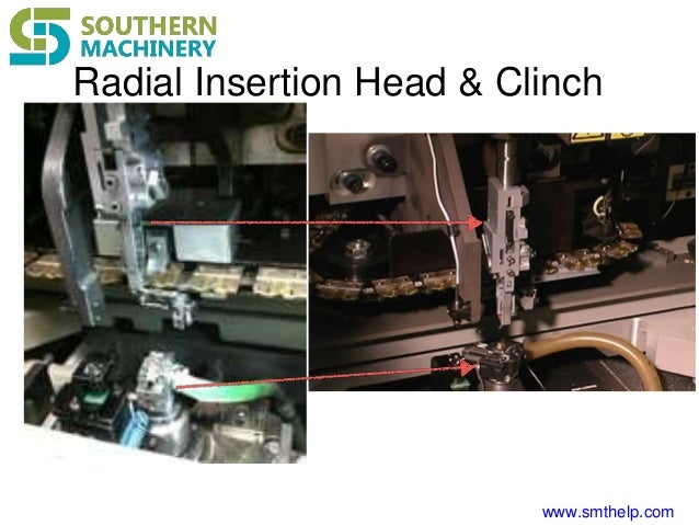 www.smthelp.com Radial Insertion Head & Clinch