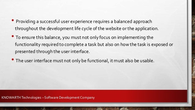 To ensure success in UI (user interface) design, a product must have these qualities: · Intuitive and consistent design · ...