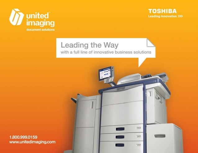 A Full Line of Award-Winning Document Solutions—That's Toshiba Managed Print Experts  Eco Style  At Toshiba, we've moved f...