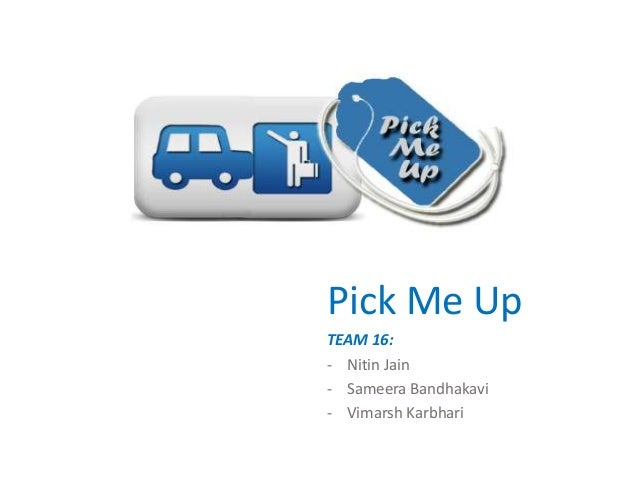 Pick Me Up - a real time carpooling App