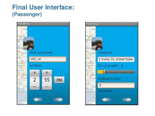 Pick Me Up A Real Time Carpooling App