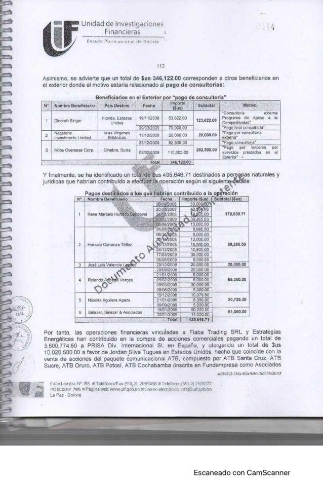 ATB y La Razón fueron adquiridos con dinero venezolano