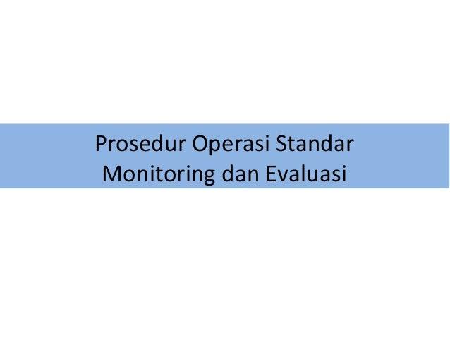 Contoh Laporan Monitoring Dan Evaluasi Proyek Contoh Aneka