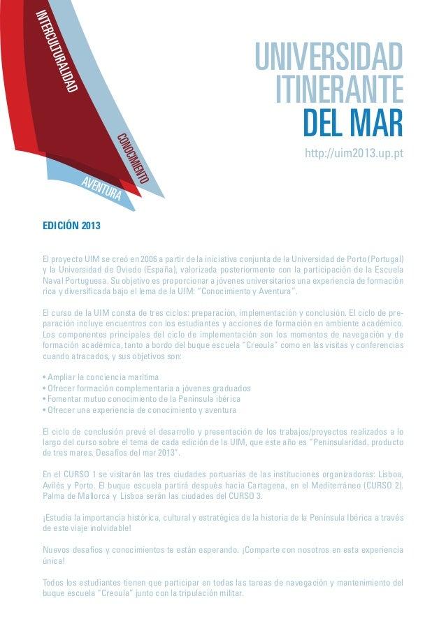 Universidad Itinerante del Mar Slide 3