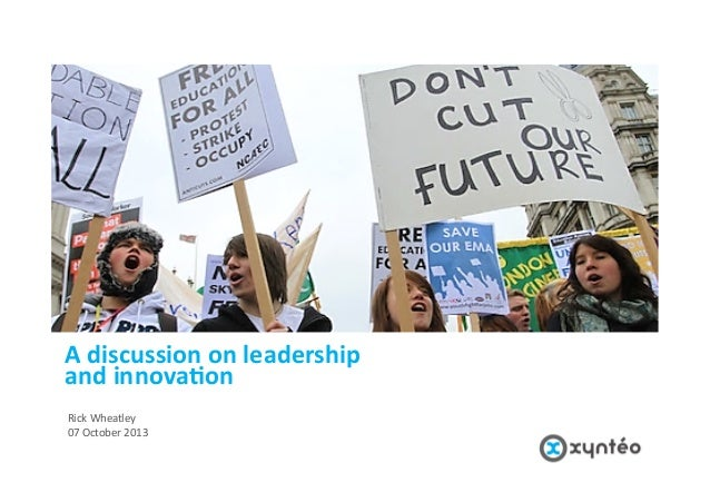 We  are  Xyntéo.     We  are  reinven/ng  growth.    A  discussion  on  leadership     and  in...
