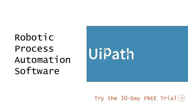 Uipath Business Process Automation Software