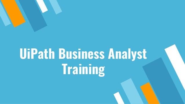 UiPath Business Analyst Training