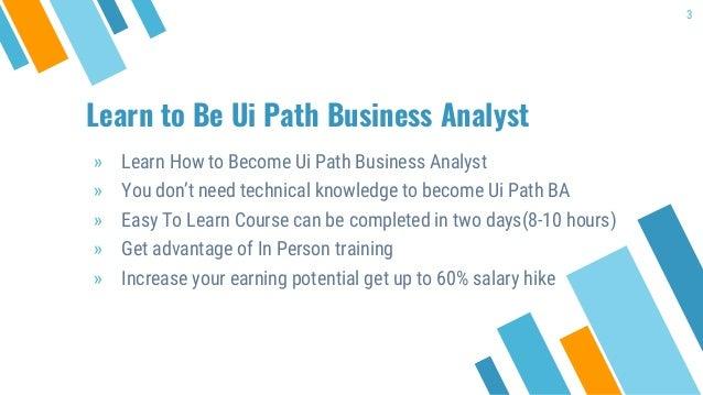 Ui Path Business Analyst Training