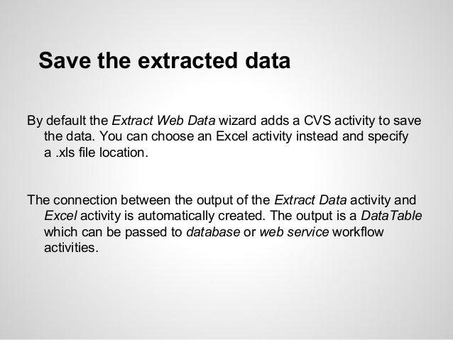 Ui path web data extraction
