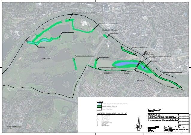 Uiterwaarden Park Arnhem -  rivierkundige aanpassing, d.d. 21-9-2012