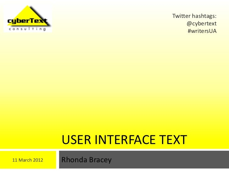Twitter hashtags:                                     @cybertext                                      #writersUA          ...
