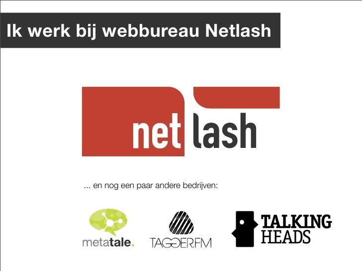 Online Communities: wat werkt (niet) ? Slide 3