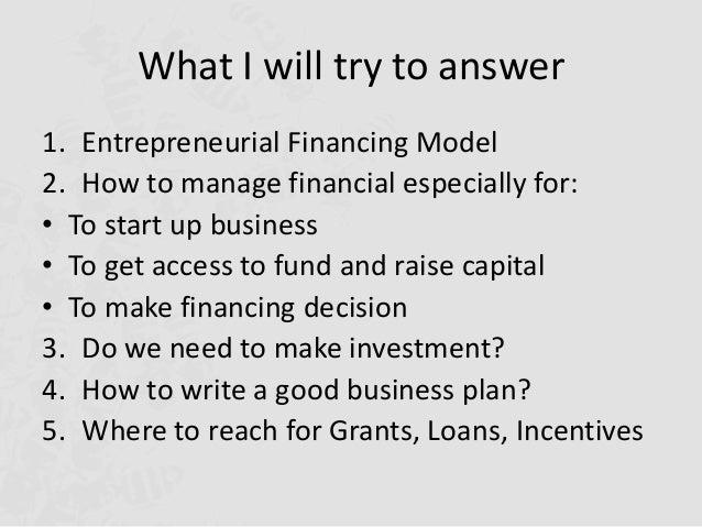 Entrepreneurship business plan uitm sabah