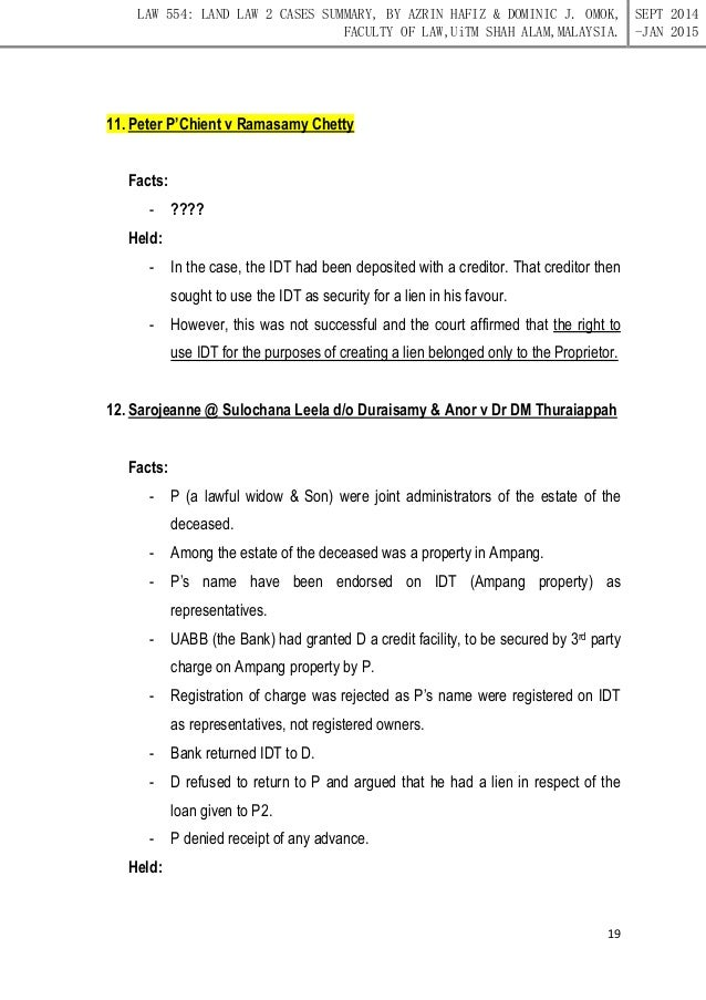 land law ii University of new south wales laws2382 property law ii final exam papers laws2382 20062 laws2382 20072 laws2382 20082 laws2382 20092 laws2382 20092 paper sample answers_lawcorners.