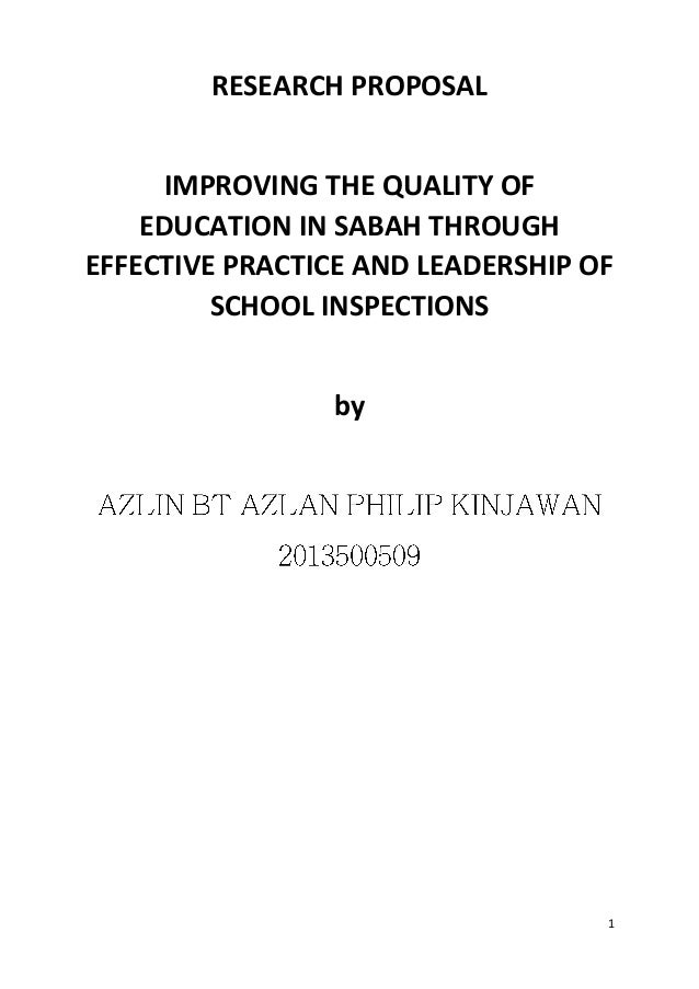 Uitm research paper proposal example