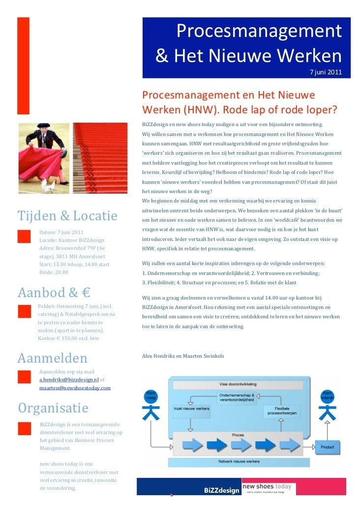 Procesmanagement                                                    &HetNieuweWerken                                ...