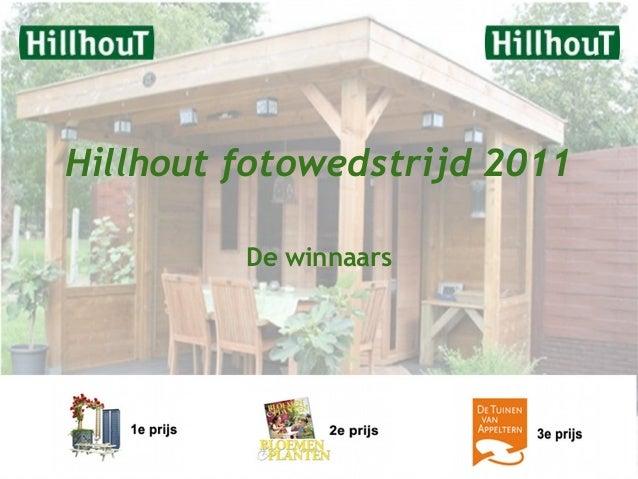 Hillhout fotowedstrijd 2011 De winnaars