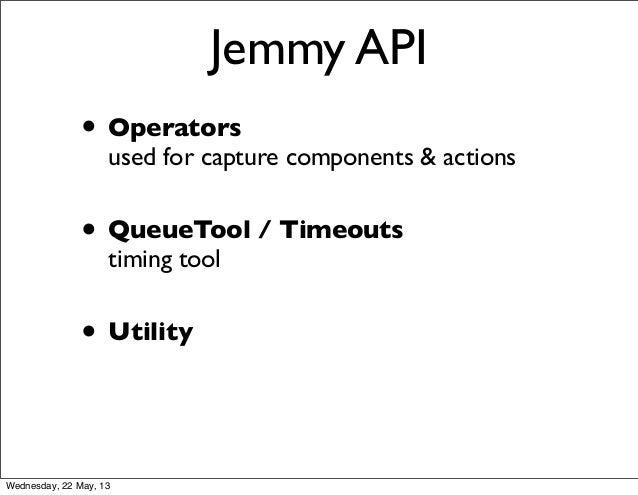 Java UI Unit Testing with jemmy