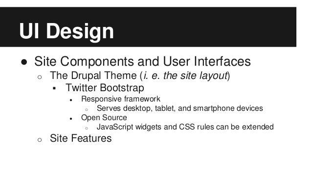 Open Hack Night Fall 2014) Design Tutorial