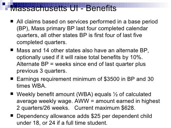 Massachusetts Unemployment - Benefits, Eligibility & Claims