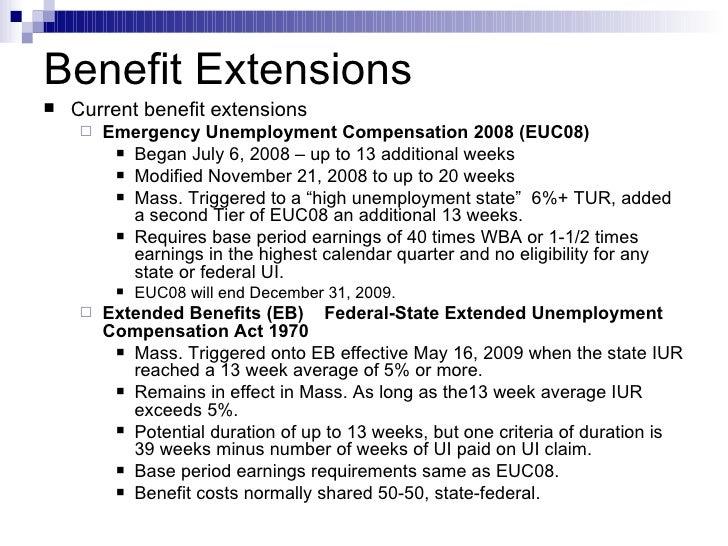 Massachusetts Unemployment Extension | Unemployment …
