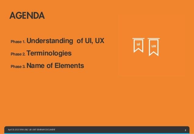 UIX UNIT_Several UI Teminologies Easy To Miss_SYS4U I&C Slide 2