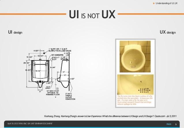 ▶ Understanding of UI, UX                                                                 UI IS NOT UXUI design           ...