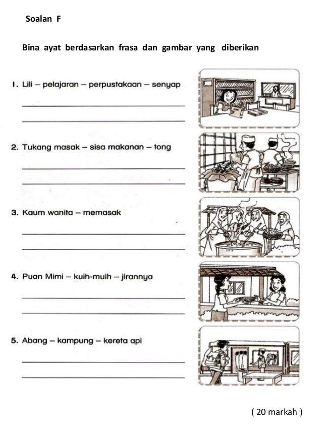 Soalan Bina Ayat Bahasa Melayu Tahun 3 Kuora Y