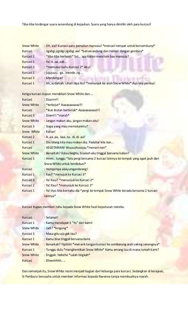 Drama Bahasa Indonesia Snow White