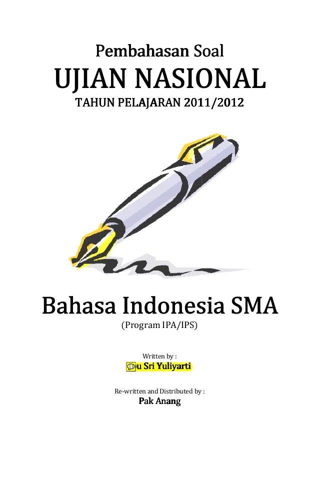 Ujian Sekolah Bahasa Indonesia Sma