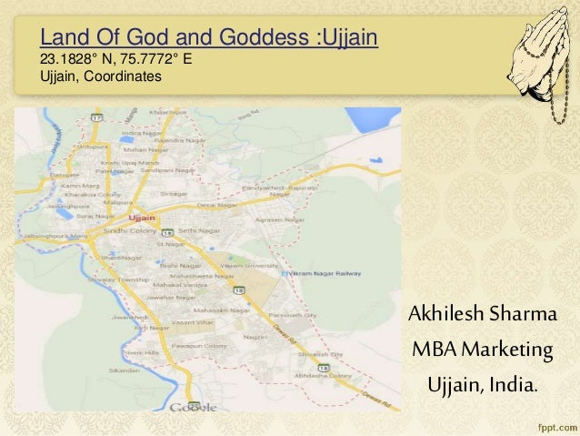 Ujjain India Map.Ujjain The City That Never Sleeps