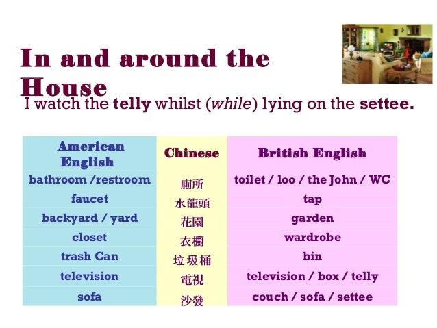British English & American English
