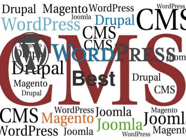 Wordpress is the best CMS Slide 3