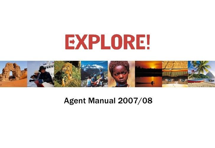 Agent Manual 2007/08