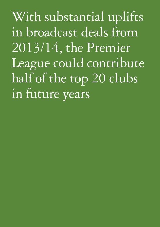 Football money league 2013