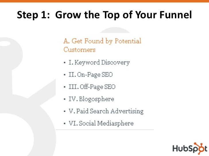 Step 1: Grow the Top of Your Funnel