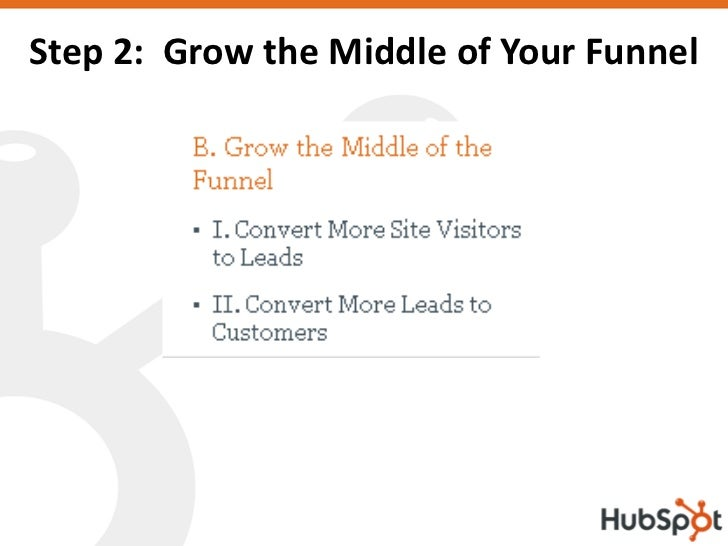 Step 2: Grow the Middle of Your Funnel