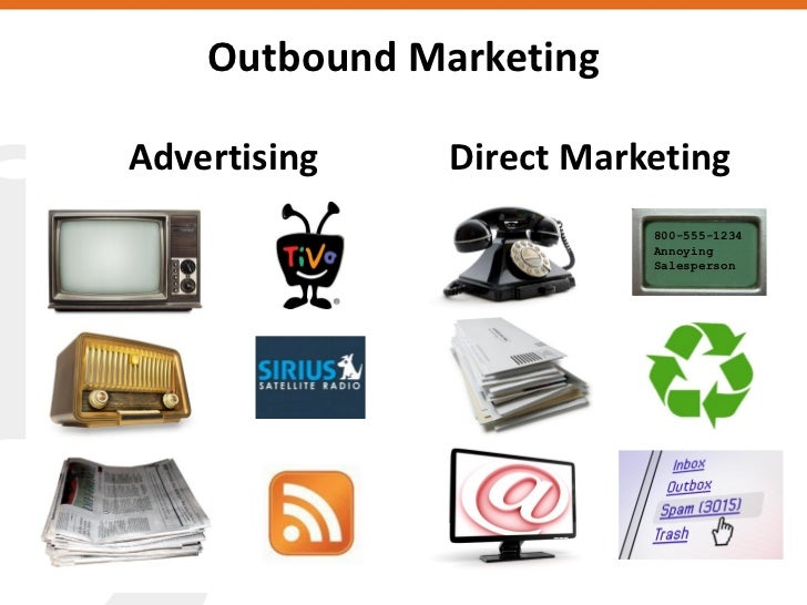 Outbound Marketing  Advertising    Direct Marketing                           800-555-1234                           Annoy...