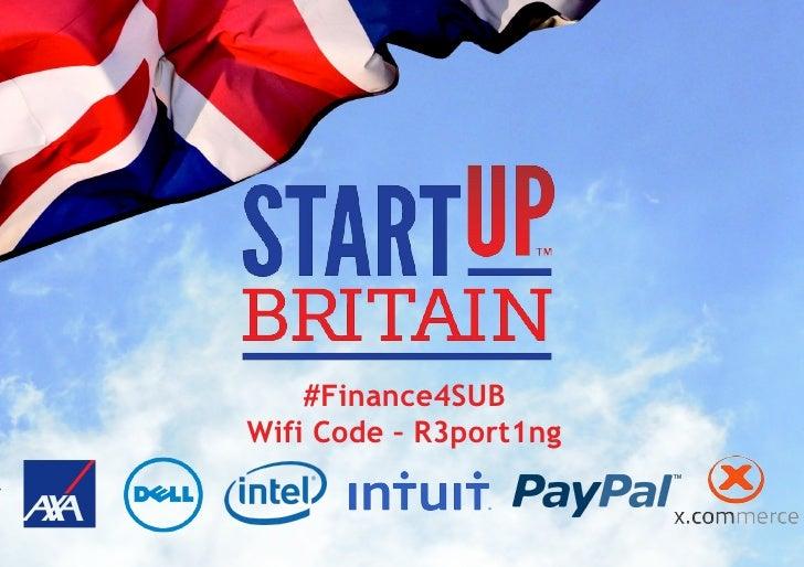 #Finance4SUBWifi Code – R3port1ng