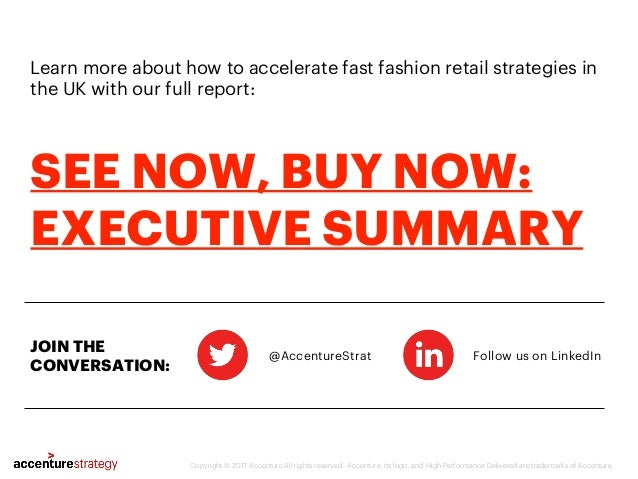 Learn more about how to accelerate fast fashion retail strategies in the UK with our full report: @AccentureStrat Follow u...