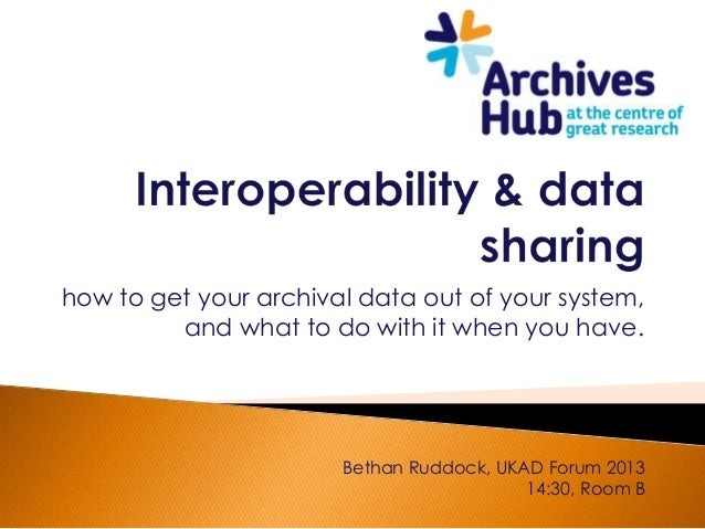 how to get your archival data out of your system,         and what to do with it when you have.                       Beth...