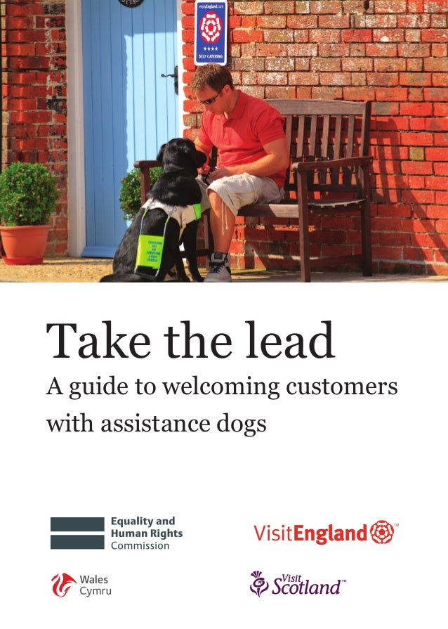 Take the lead A guide to welcoming customers with assistance dogs