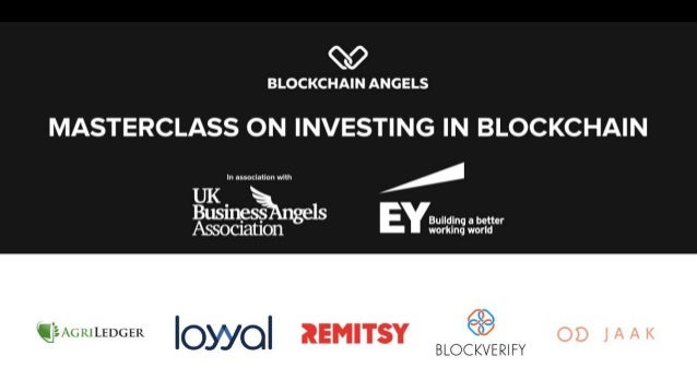 Agenda: UKBAA Introduction Investing Master Class |18:30 to 19:00 EY Startup Challenge Blockchain Program Introduction | 1...