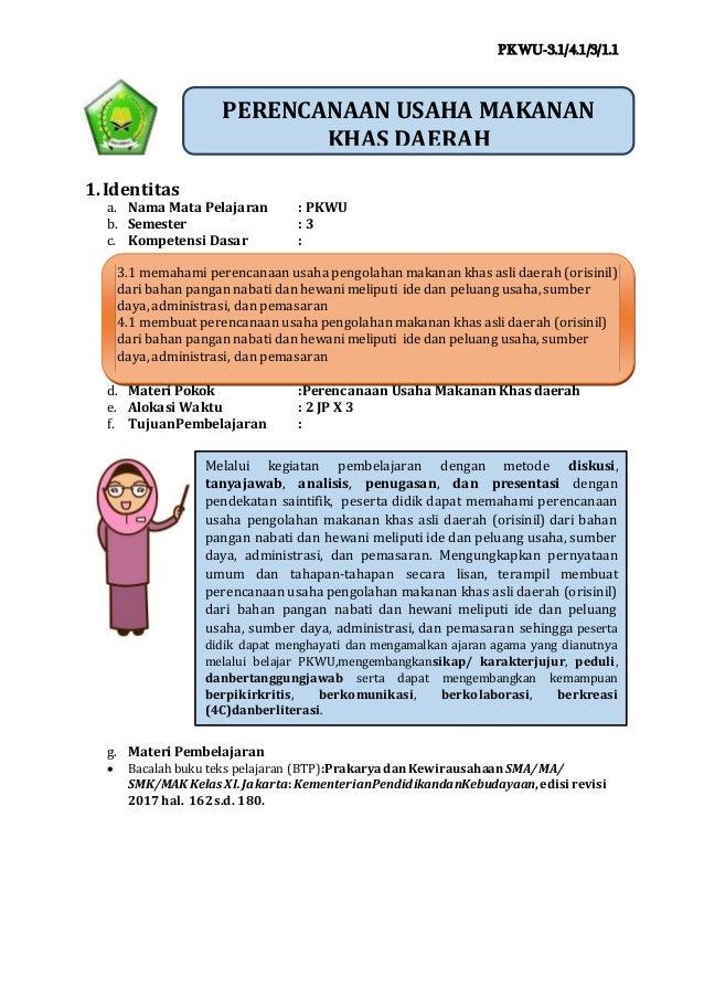 Ukbm Prakarya 3 1 Revisi