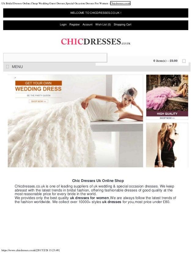 Uk Bridal Dresses Onlinecheap Wedding Guest Dressesspecial Occasion