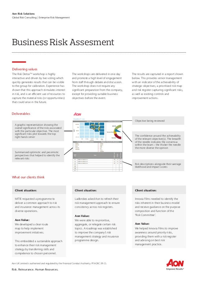 How to prevent ineffective risk assessment processes