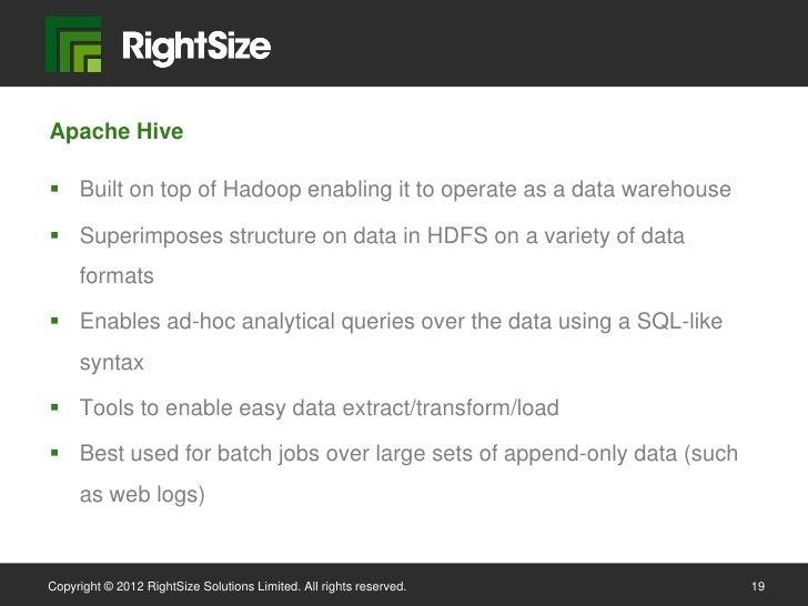 Big Data Performance and Capacity Management